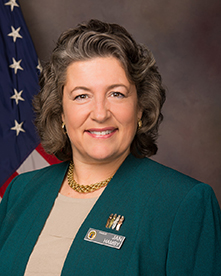 <center> Rear Admiral Janice Hamby USN (Ret.) </center>