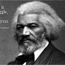 On This Day: Escaped Slave, Frederick Douglass,