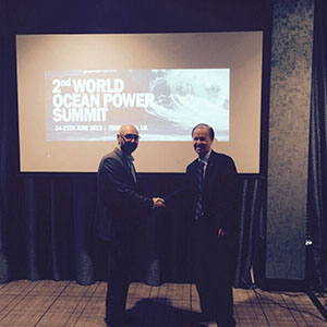 OTE Corporation Attends the 2nd World Ocean Power Summit 2015