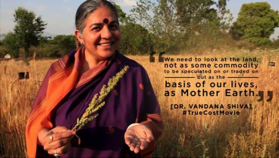Dr. Vandana Shiva quote