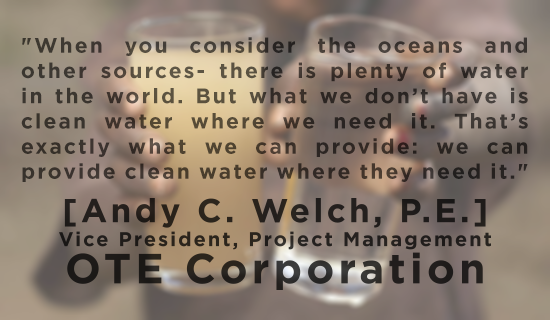 dirty clean water andy welch quote