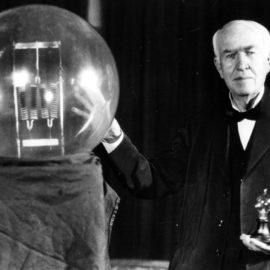 On This Day: Edison Tests the First Electric Incandescent Lamp