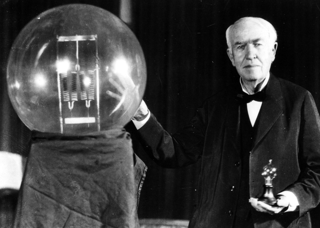 Image result for thomas edison in 1879