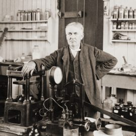 The Birthday of Thomas Edison