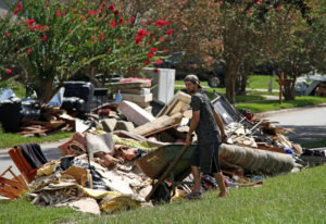 baton rouge flood cleanup