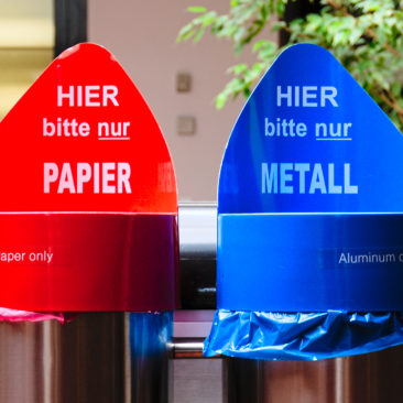 Germany Leads the Way in Recycling With Advanced Color-Coding